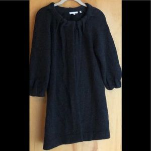 Vince charcoal gray sweater cardigan size XS